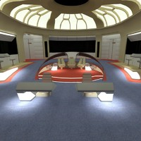 Star Trek Enterprise Bridge